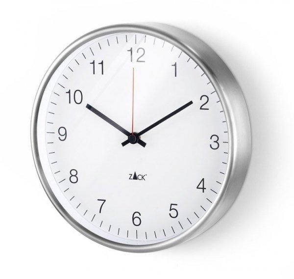 Zack PALLA Zegar Ścienny Biały