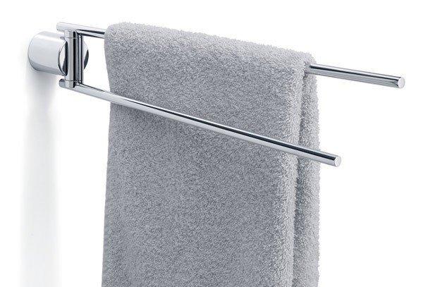 Blomus DUO Podwójny Reling Ścienny na Ręczniki - Polerowany