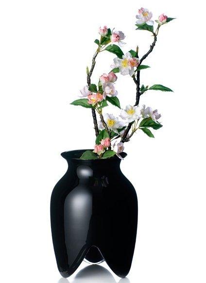 Rosendahl LIN UTZON Wazon do Kwiatów 18 cm Czarny