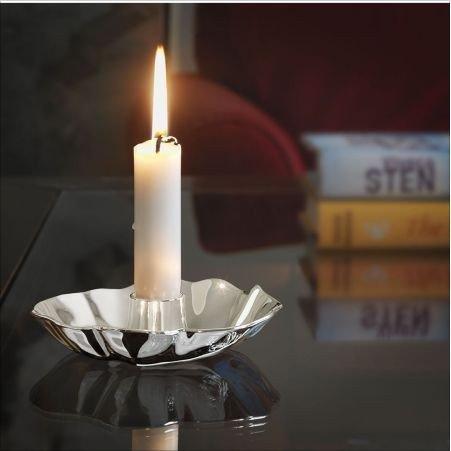 Rosendahl - Świecznik Candleholder Srebrny Kwiat 12 cm