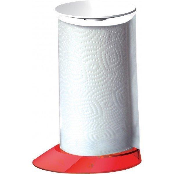 Casa Bugatti GLAMOUR Stojak na Ręczniki Papierowe Czerwony