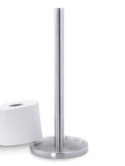 Zack MIMO Stojak na Papier Toaletowy - Stal Matowa