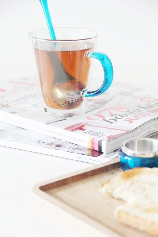 Sagaform Tea - Zaparzacz do Herbaty - Niebieski