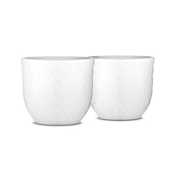 Lyngby Porcelain RHOMBE Kieliszki do Jajek 2 Szt.