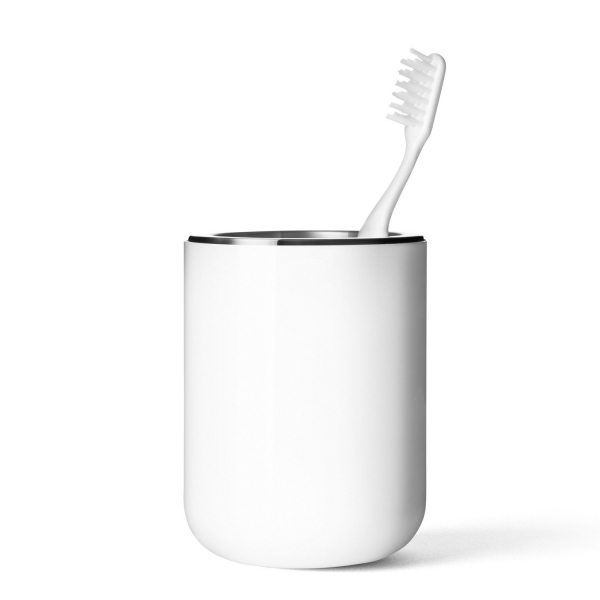 Menu BATH Kubek - Pojemnik na Szczoteczki do Zębów - Biały