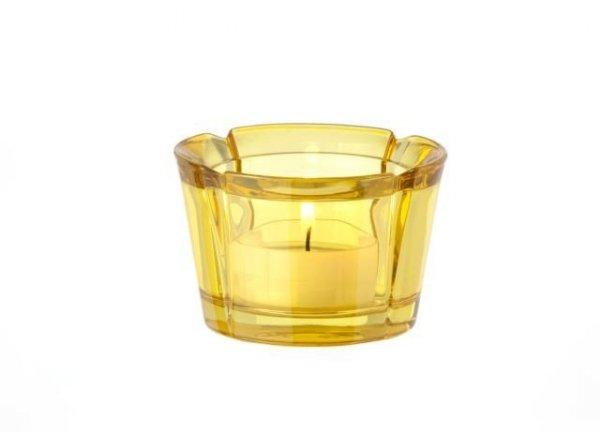 Rosendahl GRAND CRU Świecznik Tealight - Żółty