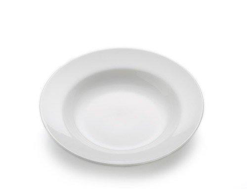 White Basics - Talerz Głęboki 23 cm