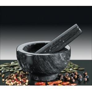Küchenprofi - Moździerz Czarny Marmur 11 cm