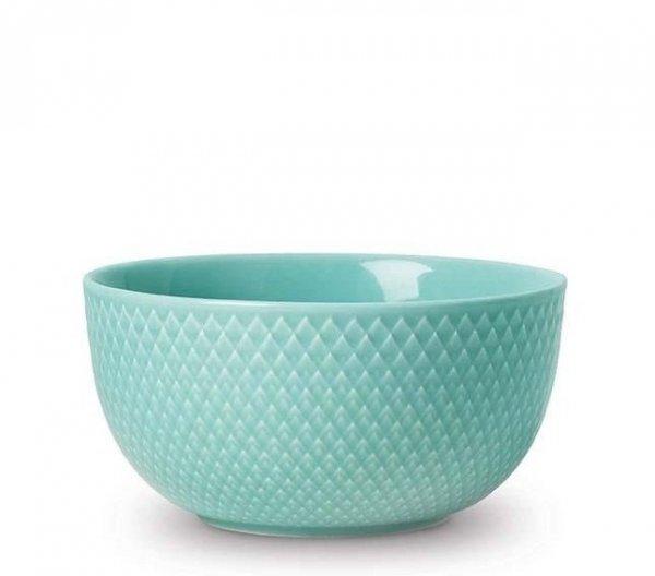 Lyngby Porcelain RHOMBE COLOR Miska 13 cm Aqua