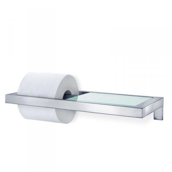 Blomus MENOTO Uchwyt na Papier Toaletowy z Półką - Matowy