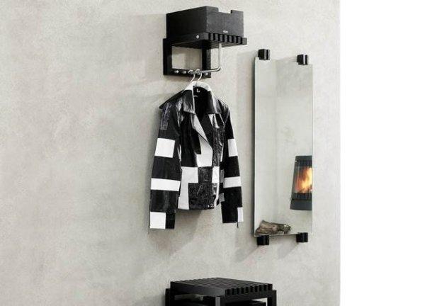 Skagerak CUTTER Lustro Ścienne 110 cm Czarne