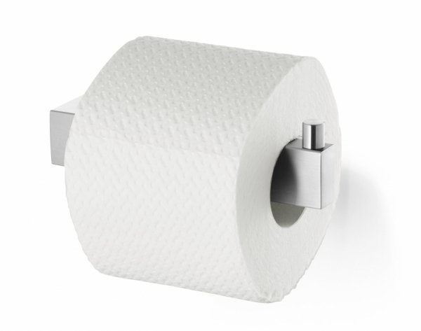 Zack LINEA Równoległy Uchwyt na Papier Toaletowy - Stal Matowa
