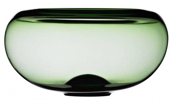 Provence - Misa Szklana 31 cm Zielona