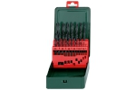 Metabo Komplet wierteł do metalu HSS-R 19 szt. 1-10mm 627151000