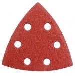 Papier ścierny trójkąt na rzep P100 Delta