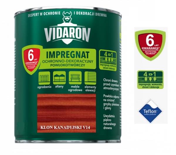 VIDARON IMPREGNAT KLON KANADYJSKI 0,7L