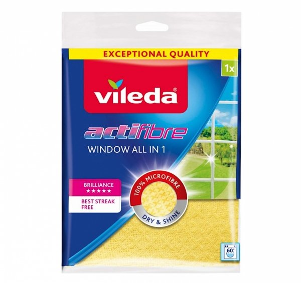 Vileda Actifibre Window All in 1 ścierka do okien