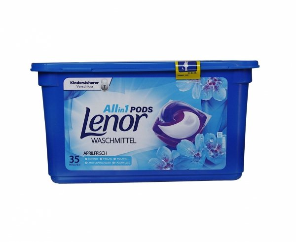 Lenor All in1 Aprilfrisch kapsułki do prania BOX 105 kapsułek