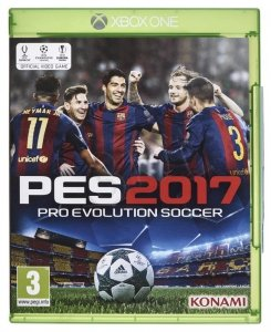 Gra Xbox One Pro Evolution Soccer 2017
