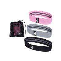 Hips bands - (LVL1-LVL3) - Zestaw trzech gum oporowych do ćwiczeń