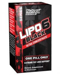 Nutrex Lipo 6 Black UC 60 caps (USA)