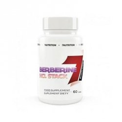7Nutrition Berberine HCL Stack 60 caps