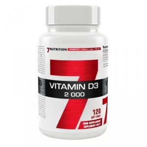 7Nutrition Vitamin D3 120 caps