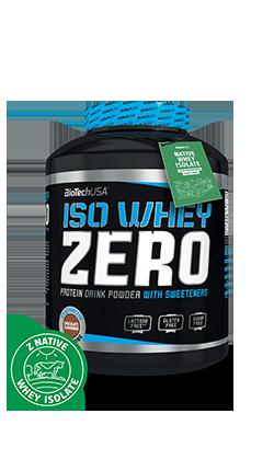 BioTech USA Iso Whey Zero 2270g