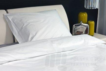 Poszewka hotelowa z perkalu, gładka, 140g/m2