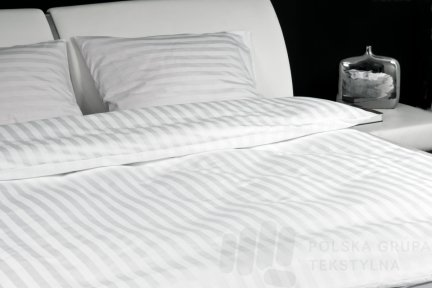 Poszwa hotelowa satynowa, 160g/m2, 250TC, 100% bawełna