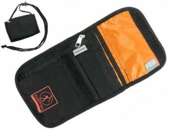 2ad3fbffe1581 Paszportówka portfel turystyczny BUSHMEN z systemem RFID  czarny - Portfele  - PLECAKI ORGANIZERY NERKI
