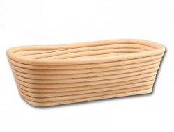 Koszyk do rozrostu (garowania) chleba prostokąt poj. 0,75kg