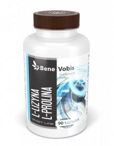 Bene Vobis - L-Lizyna & L-Prolina - 90 kapsułek
