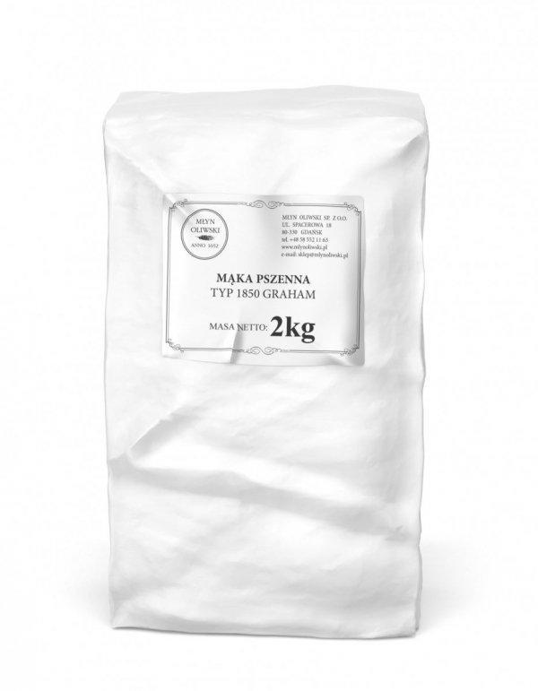 Mąka pszenna typ 1850 (graham) - 2kg