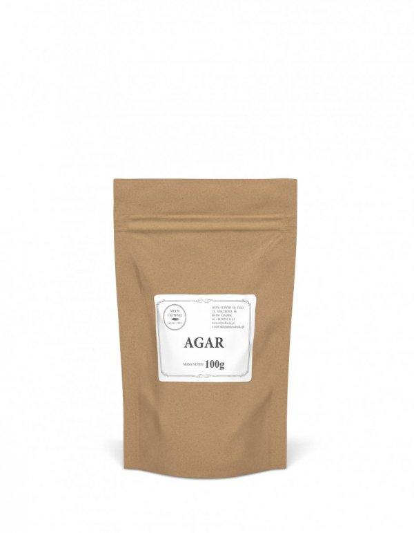 Agar - naturalna substancja żelująca pochodzenia roślinnego - 100g