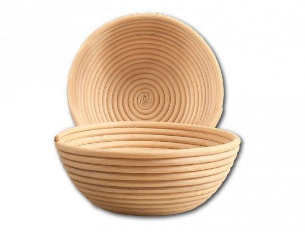 Koszyk do rozrostu (garowania) chleba - okrągły - prezentacja produktu