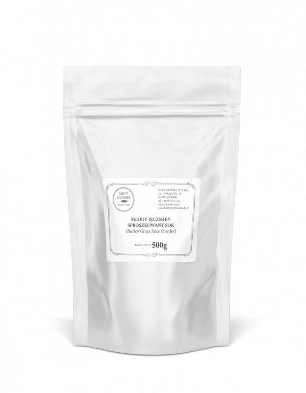 Młody jęczmień - sproszkowany sok (Barley grass juice powder) - 500g