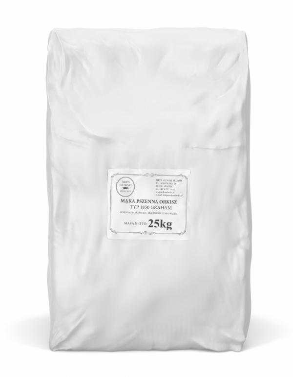 Mąka pszenna orkiszowa typ 1850 (graham) - 25kg