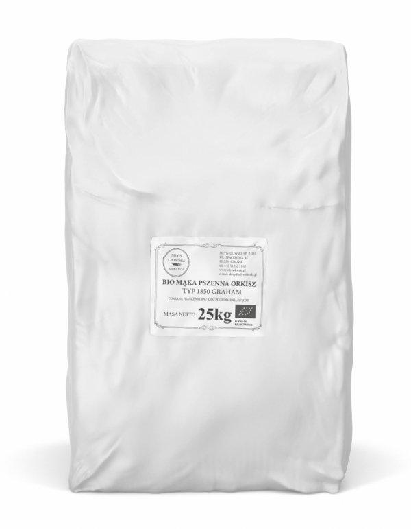 Mąka pszenna orkisz typ 1850 (graham) - 25kg
