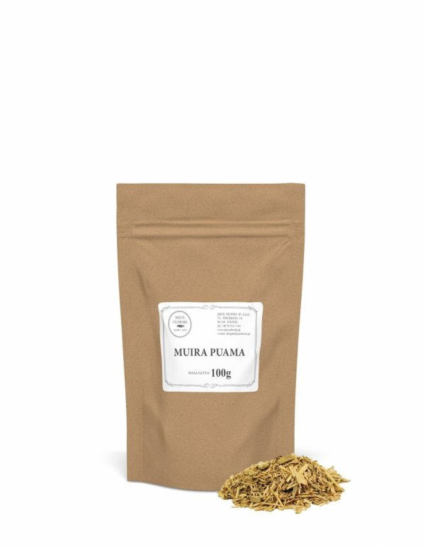 Muira Puama (Ptychopetalum olacoides, Lirosima ovata) - 100g