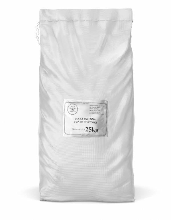 Mąka pszenna typ 450 (tortowa) - 25kg