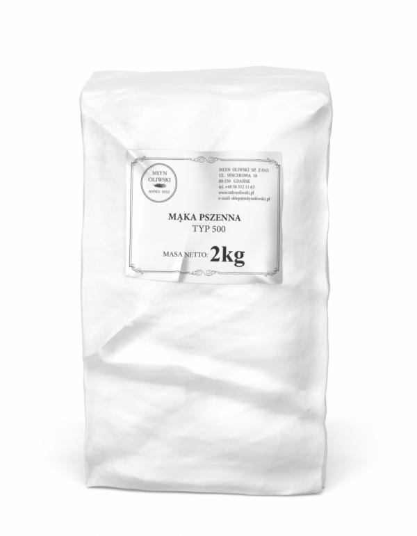 Mąka pszenna typ 500 - 2kg