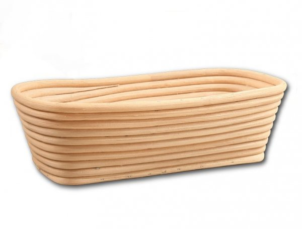 Koszyk do rozrostu (garowania) chleba - prostokąt - poj. 0,75kg
