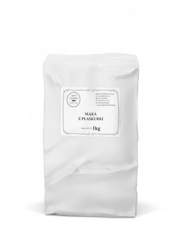 Mąka pełnoziarnista z płaskurki