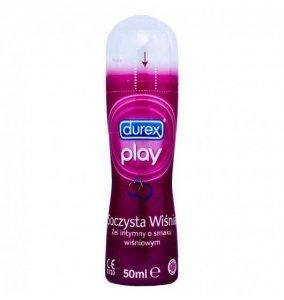 Durex żel intymny very cherry 50 ml rózowy - lubrykant wodny