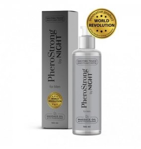 PheroStrong by Night for Men Massage Oil 100ml