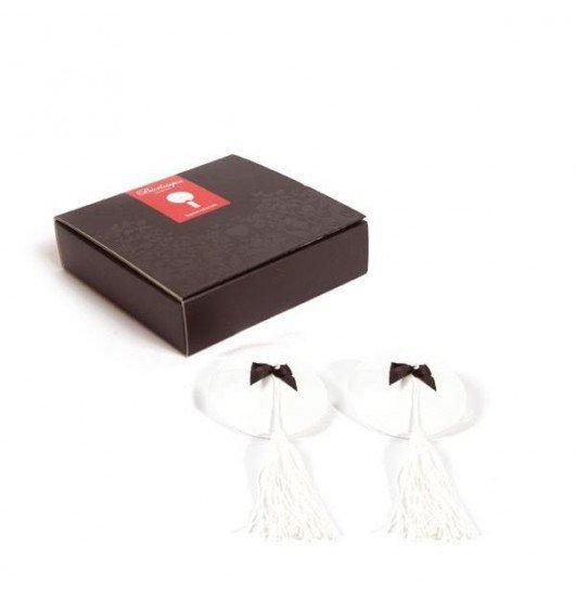 Bijoux Indiscrets - Burlesque Pasties, białe