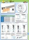 Prowadnica szyna AL H2 do drzwi przesuwnych 1200mm herkules