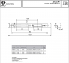Zaczep KARO do zamka regulowany E-C6 6x24mm Prawy