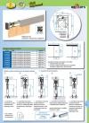 Prowadnica szyna AL H2 do drzwi przesuwnych 1800mm herkules